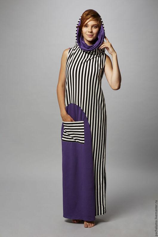 Платье `Циркус`.  В комплекте пристегивающиеся рукава. Размер: S/M Состав: трикотаж