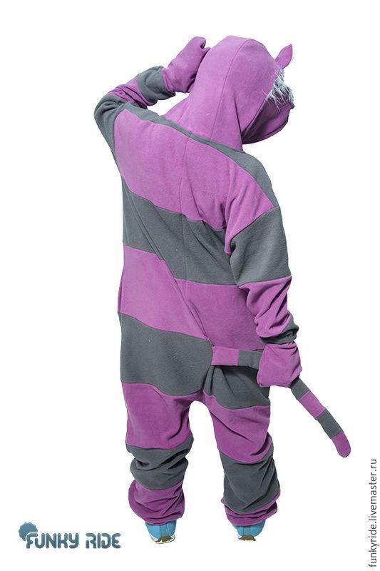 0794d9acd50c ... Cheshire Cat Kigurumi - Custom Handmade - Anti-pill Fleece Pyjamas -  Unisex costume ...