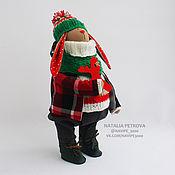 Куклы и игрушки ручной работы. Ярмарка Мастеров - ручная работа Новогодний заяц №6 (интерьерная игрушка). Handmade.
