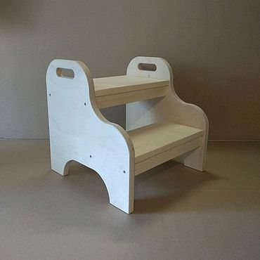 Мебель ручной работы. Ярмарка Мастеров - ручная работа Стремянка Без углов. Handmade.