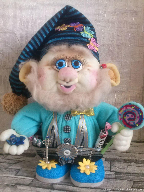 Гномик-сладкоежка, Мягкие игрушки, Златоуст,  Фото №1