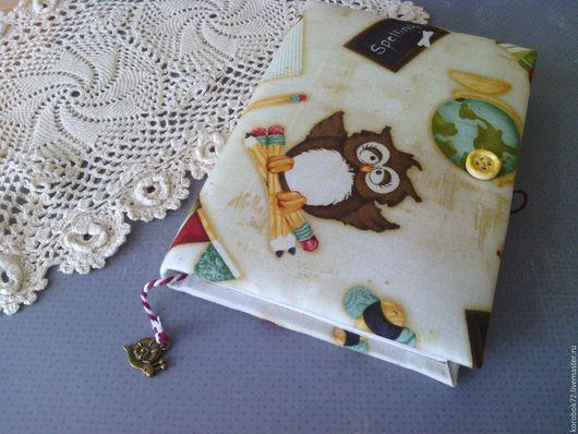 Блокноты ручной работы. Ярмарка Мастеров - ручная работа. Купить Блокнот для записей Школьные дни. Handmade. Блокнот ручной работы