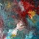 Абстракция ручной работы. Абстрактная живопись. AQUAMARINES - 2.. Анна. Ярмарка Мастеров. Голубой, абстракция, Живопись, холст