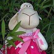 Куклы и игрушки ручной работы. Ярмарка Мастеров - ручная работа Овечка Малинка. Handmade.