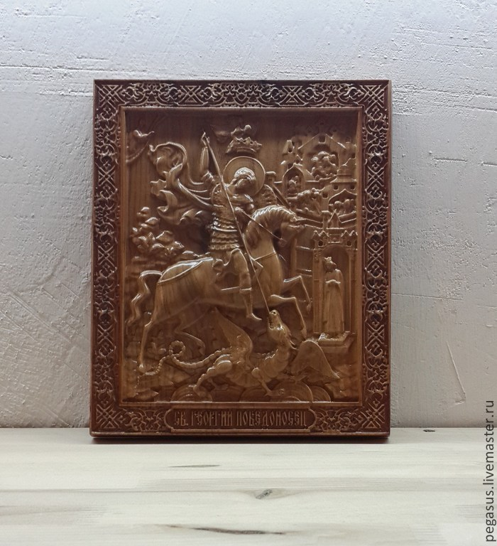 The icon of St. George, Icons, Chelyabinsk,  Фото №1