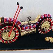 Подарки к праздникам ручной работы. Ярмарка Мастеров - ручная работа Сладкий мотоцикл. Handmade.