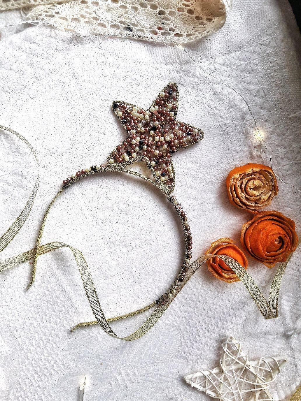 Новогодний ободок, Ободки и повязки на голову, Белореченск,  Фото №1