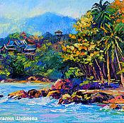 Картины и панно handmade. Livemaster - original item Painting with the sea