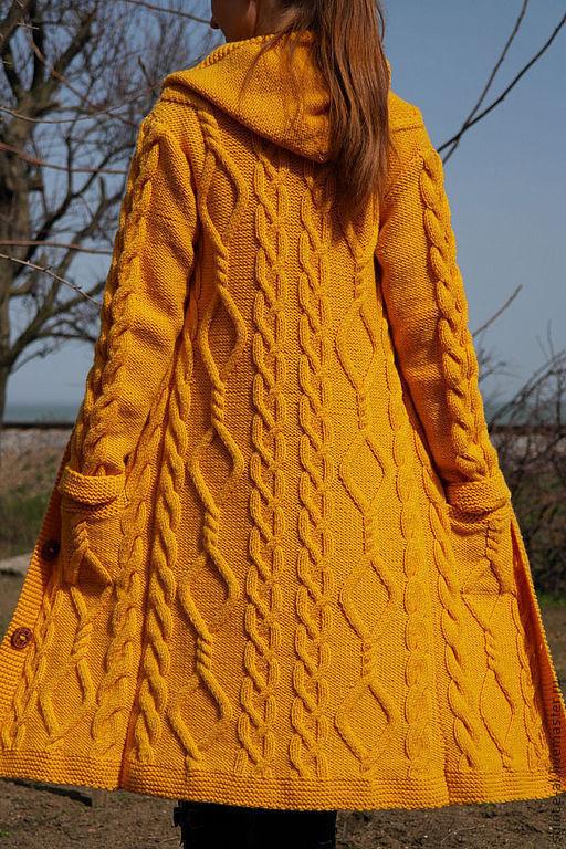 """Верхняя одежда ручной работы. Ярмарка Мастеров - ручная работа. Купить Пальто """"Classical style"""". Handmade. Пальто вязаное"""
