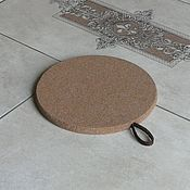 Для дома и интерьера handmade. Livemaster - original item Cork thermal extension with leather suspension PDT-S0000002. Handmade.