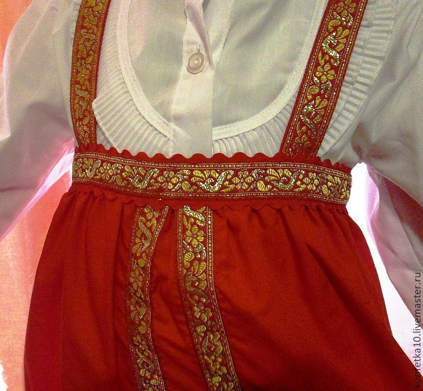 Русские народные костюмы для девочек своими руками 173