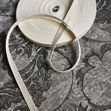 Материалы для творчества ручной работы. Ярмарка Мастеров - ручная работа 4586L льняная лента меланж. Handmade.