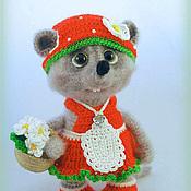 Куклы и игрушки handmade. Livemaster - original item Mouse Strawberry Musetta. Handmade.