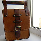 Сумки и аксессуары handmade. Livemaster - original item Tablet bag, leather,men`s.. Handmade.