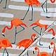 """Шитье ручной работы. Вискоза Италия  """"Фламинго"""". Орленко Лилия дизайнерские платья. (o-desiree). Ярмарка Мастеров. Вискоза, вискоза"""