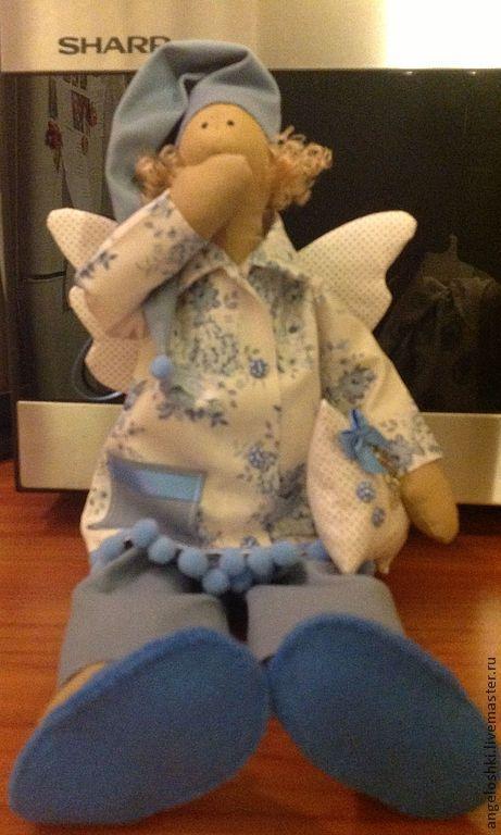 Куклы Тильды ручной работы. Ярмарка Мастеров - ручная работа. Купить Ангелы добрых снов. Сплюшики. Handmade. Тильда, ангел