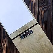 Дизайн и реклама ручной работы. Ярмарка Мастеров - ручная работа Меню из дерева, планшет. Для баров, ресторанов, кафе.. Handmade.