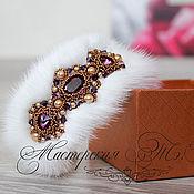 Украшения handmade. Livemaster - original item Bracelet made of mink fur-day, fur bracelet. Handmade.
