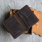 Канцелярские товары handmade. Livemaster - original item Passport cover, cover for auto documents, leather, for a man as a gift. Handmade.