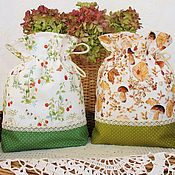 Для дома и интерьера handmade. Livemaster - original item Bags cotton. Handmade.