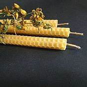 Фен-шуй и эзотерика handmade. Livemaster - original item St. John`s Wort candles Kupala herbs-cleansing and protection. Handmade.