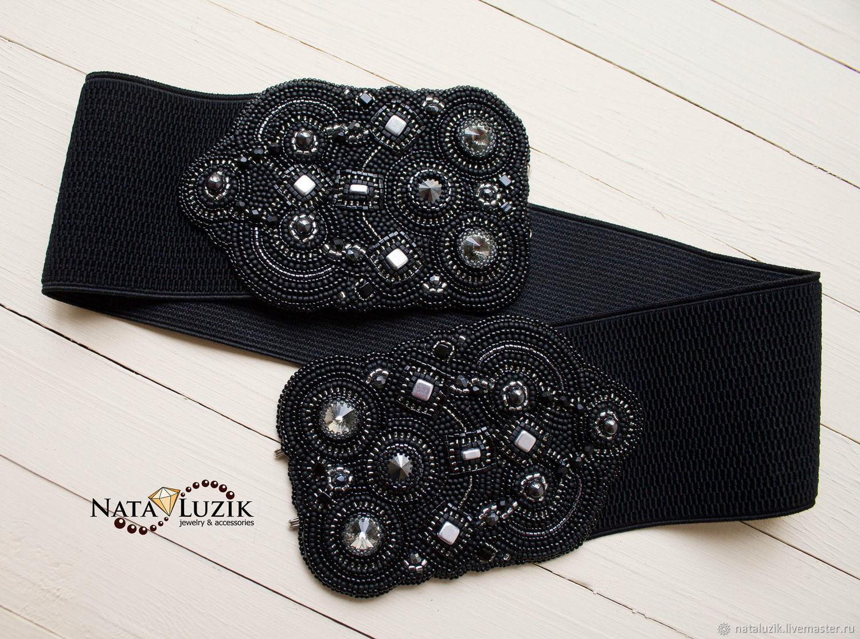 La correa es de goma negro de la textura, h-60mm, tejidos.