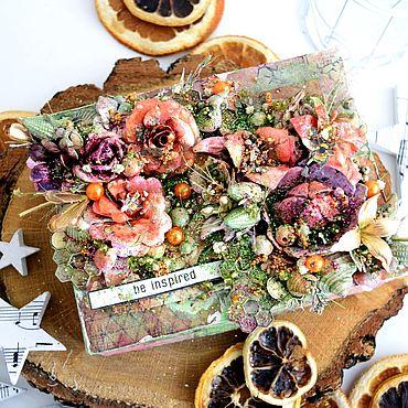 Для дома и интерьера ручной работы. Ярмарка Мастеров - ручная работа Шкатулки: Sweep Box. Handmade.