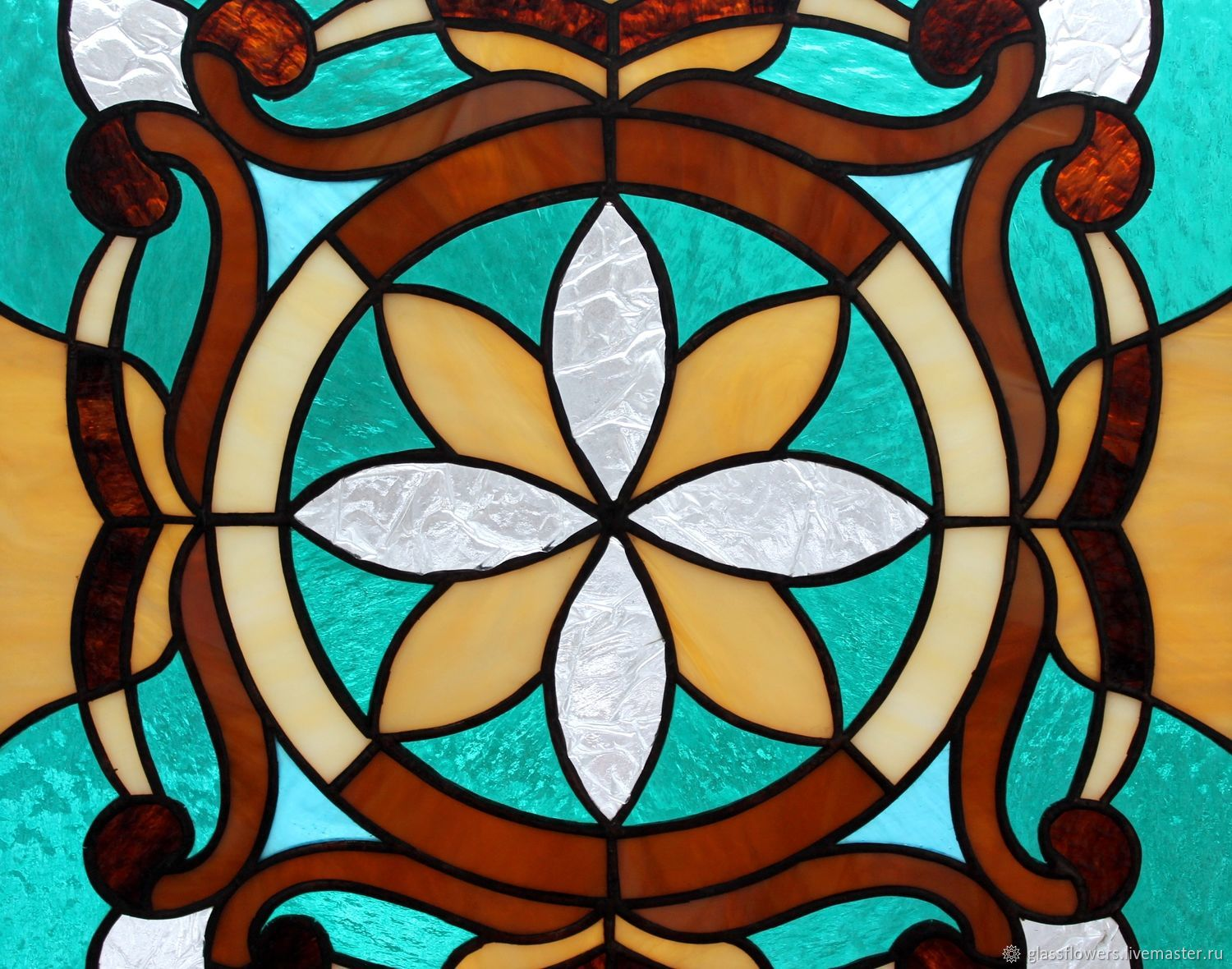 Stained glass window. stained glass Tiffany. The stained glass in the Windows. Stained glass, Stained glass, St. Petersburg,  Фото №1