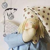 Куклы и игрушки ручной работы. Ярмарка Мастеров - ручная работа Тильда Сплюшка в пижамке. Handmade.