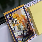 Сувениры и подарки ручной работы. Ярмарка Мастеров - ручная работа Магнит со стикерами. Handmade.