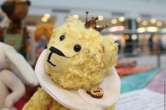Мишки Тедди ручной работы. Ярмарка Мастеров - ручная работа. Купить Маленький принц с Солнечной планеты. Handmade. Желтый, подарок