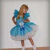 """Комплекты одежды ручной работы. Ярмарка Мастеров - ручная работа Наряд для девочки """"Нежно голубой"""". Handmade."""