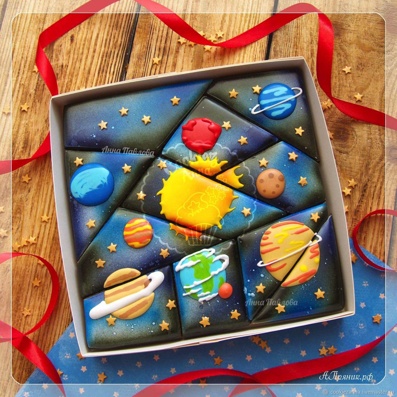 Gingerbread space puzzle mosaic, Gingerbread Cookies Set, St. Petersburg,  Фото №1