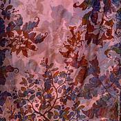 Аксессуары handmade. Livemaster - original item silk batik stole,