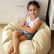 Для дома и интерьера ручной работы. Ярмарка Мастеров - ручная работа Пуф - подушка , кресло груша, биг бен, пенопластовые шарики. Handmade.