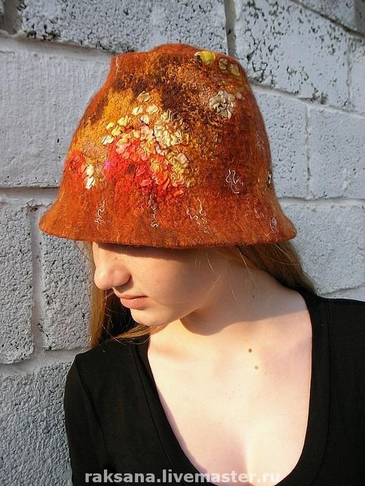 """Шляпы ручной работы. Ярмарка Мастеров - ручная работа. Купить Шляпки валяные из серии """"Мозаика"""". Handmade. Шапка, подарок"""