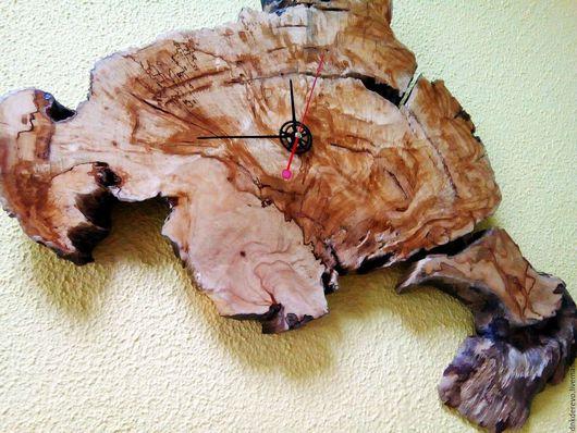 """Часы для дома ручной работы. Ярмарка Мастеров - ручная работа. Купить часы """"КОНТИНЕНТ"""". Handmade. Дерево, дизайн, часы из дерева"""