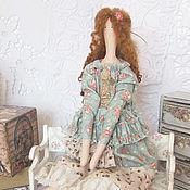 Кукла текстильная интерьерная в стиле Тильда Эмилия