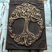 Фен-шуй и эзотерика ручной работы. Ярмарка Мастеров - ручная работа книга для записей:Древо. Handmade.