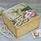 Для дома и интерьера ручной работы. Ярмарка Мастеров - ручная работа Шкатулка Старые письма. Handmade.