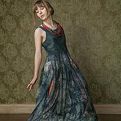 """Одежда ручной работы. Ярмарка Мастеров - ручная работа Платье """"Туман"""" (нуно-фельт). Handmade."""