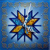 """Для дома и интерьера ручной работы. Ярмарка Мастеров - ручная работа Часы на счастье """"Алатырь"""". Handmade."""