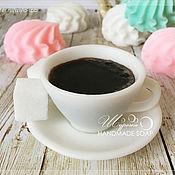 """Косметика ручной работы. Ярмарка Мастеров - ручная работа """"Чашка кофе"""", мыло ручной работы. Handmade."""