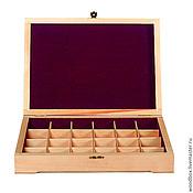 Для дома и интерьера handmade. Livemaster - original item 34255(24)f box under the decoupage to painting to values. Handmade.