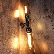 Для дома и интерьера handmade. Livemaster - original item Wall lamp: Decorative lamp in Loft style. Handmade.