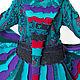 Верхняя одежда ручной работы. Шерстяной свитер- пальто. JolitaStyle. Ярмарка Мастеров. Лоскутная техника, большие размеры, осенняя мода