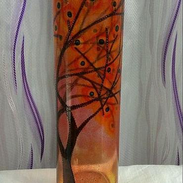 Для дома и интерьера ручной работы. Ярмарка Мастеров - ручная работа Ваза Осенний цвет. Handmade.