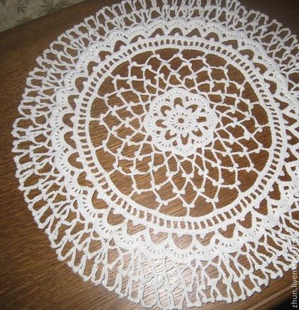 Текстиль, ковры ручной работы. Ярмарка Мастеров - ручная работа Салфеточка в винтажном стиле. Handmade.