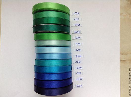 Аппликации, вставки, отделка ручной работы. Ярмарка Мастеров - ручная работа. Купить Атласная лента 12 мм  ( 30 метров!). Handmade.