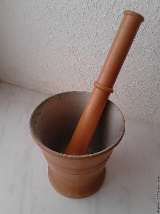 Винтажная посуда. Ярмарка Мастеров - ручная работа. Купить ступка с пестиком. Handmade. Рыжий, для кафе, советская эпоха